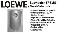 Loewe Subwoofer TREMO