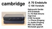 cambridge A70 und C100